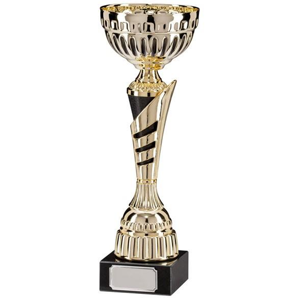 Vanquish Gold & Black Cup