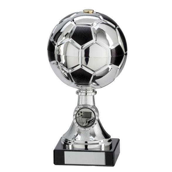 Milano Football Silver & Black Trophy