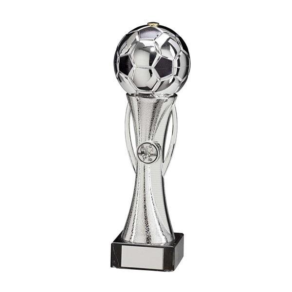 Sceptre Football Silver & Black Trophy