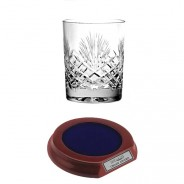 Crystal Whisky Glass with Base