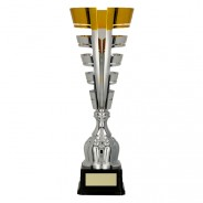 Silver / Gold Metal Cup
