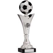 Silver Football on Tower Trophy