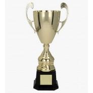 Gold Presentation Cup on Black Base