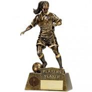 Pinnacle Female Football Players Player