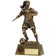 Pinnacle Female Football Parents Player