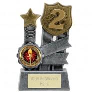 2nd Place Ribbon Trophy