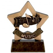Mini Stars Music Award Trophy