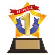 Mini-Star 1st Place Acrylic Plaque