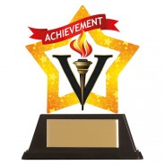 Mini-Star Achievement Acrylic Plaque