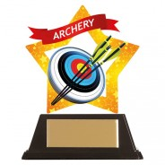 Mini-Star Archery Acrylic Plaque