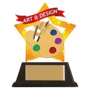 Mini-Star Art & Design Acrylic Plaque