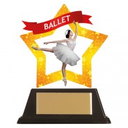 Mini-Star Ballet Acrylic Plaque