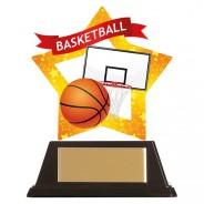 Mini-Star Basketball Acrylic Plaque