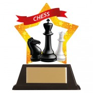 Mini-Star Chess Acrylic Plaque