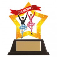 Mini-Star Highland Dance Acrylic Plaque