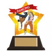 Mini-Star Street Dance Acrylic Plaque
