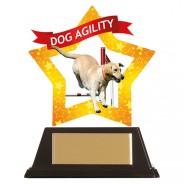 Mini-Star Dog Agility Acrylic Plaque