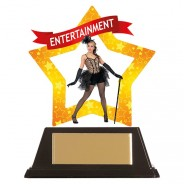 Mini-Star Entertainment Acrylic Plaque