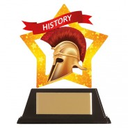 Mini-Star History Acrylic Plaque