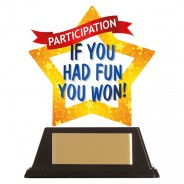 Mini-Star Participation Acrylic Plaque