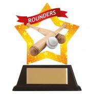 Mini-Star Rounders Acrylic Plaque
