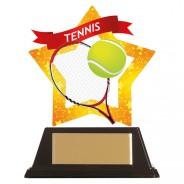 Mini-Star Tennis Acrylic Plaque