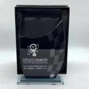 Black Glass Wave Motorsport Trophy