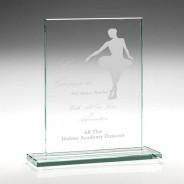 Rectangle Glass Award