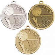 Galaxy Basketball Medal