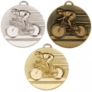 Target50 Cycling Medal