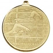 Frosted Glacier Swimming Medal