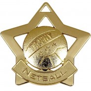 Mini Star Netball Medal