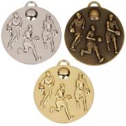 Target50 Basketball Medal