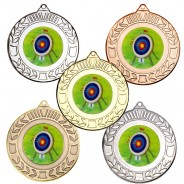 Archery Wreath Medals