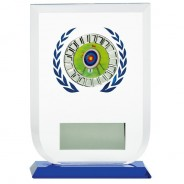 Multisport Glass Award with Archery Insert