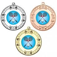 Badminton Tri Star Medals