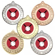 Baseball Wreath Medals