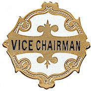 Vice Chairman Badge
