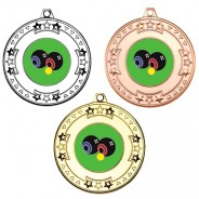 Bowls Tri Star Medals