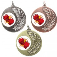 Boxing Laurel Medals
