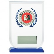 Multisport Glass Award with Chess Insert