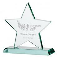 Jade Galaxy Star Crystal Award