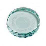 Jade Gaia Glass Paperweight