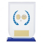 Gladiator Lawn Bowls Glass Award