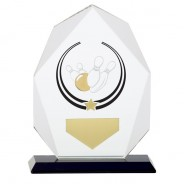 Glacier Ten Pin Glass Award