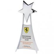 Las Vegas Chrome Plated Award Silver
