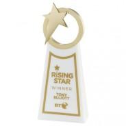 Rising Star Award Gold & White