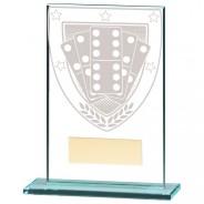 Millennium Dominoes Jade Glass Award