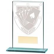 Millennium Poker Jade Glass Award