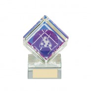 Victorious Pool Cube Crystal Award